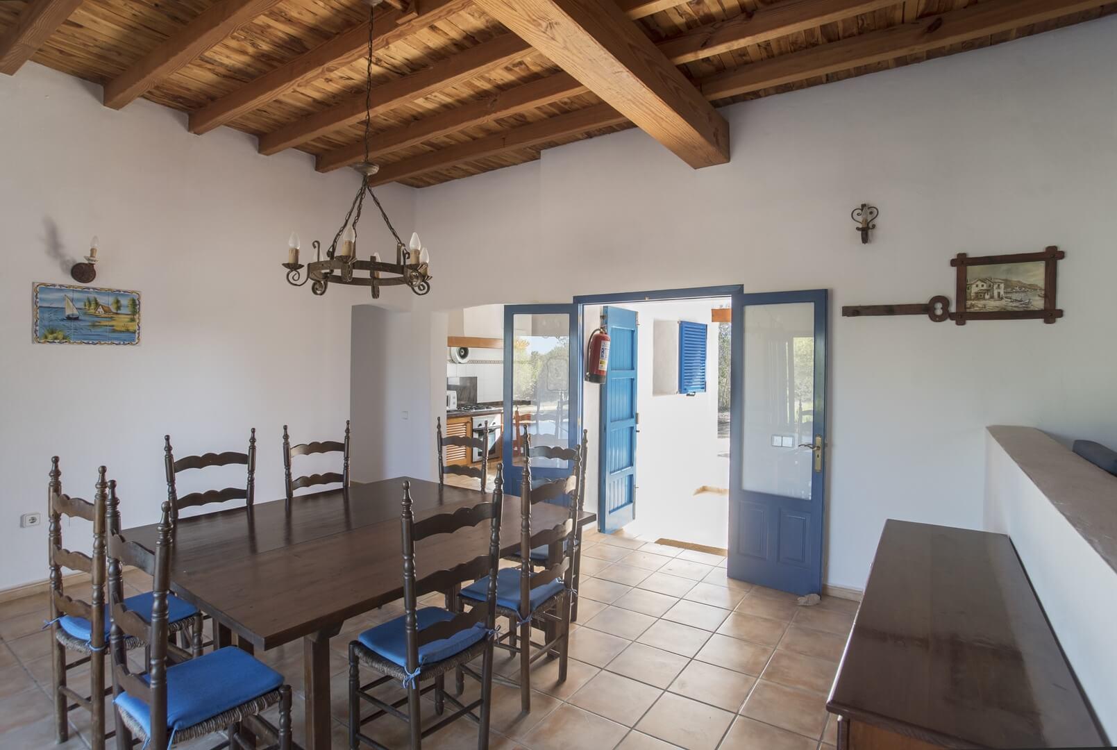 Casa Alquiler Formentera. Casa Patricia, Cala Saona